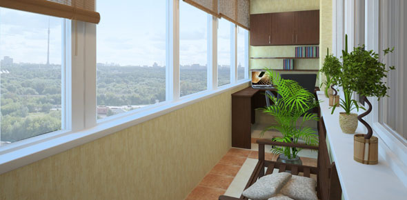 Изоляция и выравнивание балконов